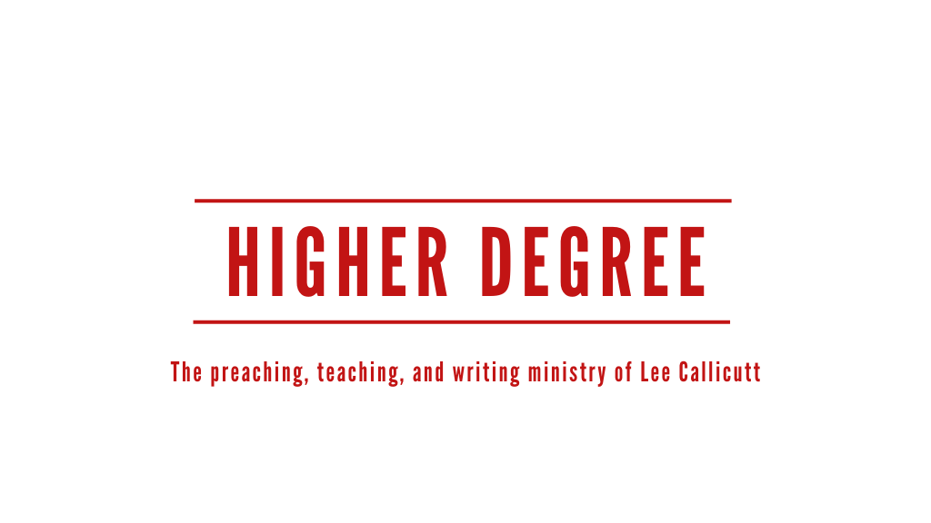 Higher Degree Ministries